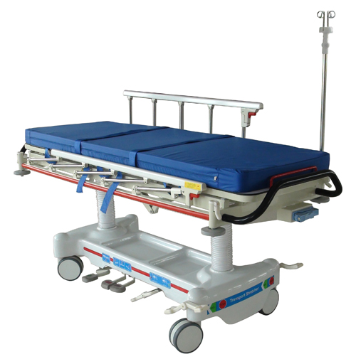 Radiolucent Hydraulic stretcher trolley