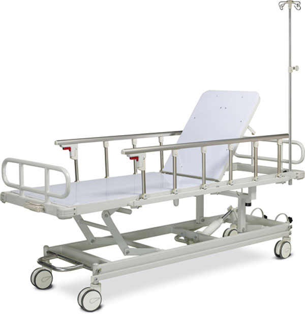 Four functions Hydraulic Stretcher /X-ray Available Hydraulic Stretcher
