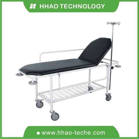 Stretcher on Trolley with mattress / patient stretcher trolley