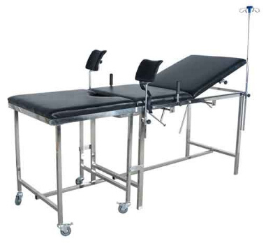simple gynaecology table / delivery table / bed