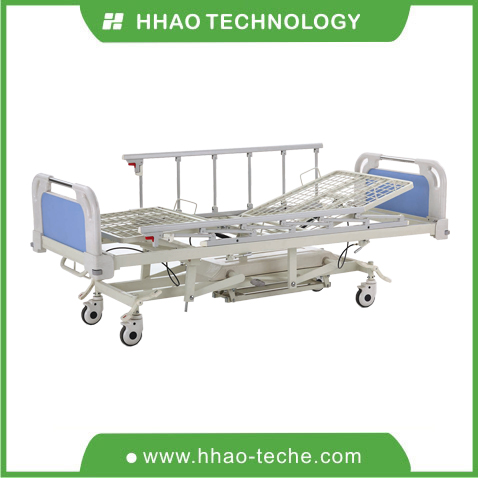 Four function hospital hydraulic bed