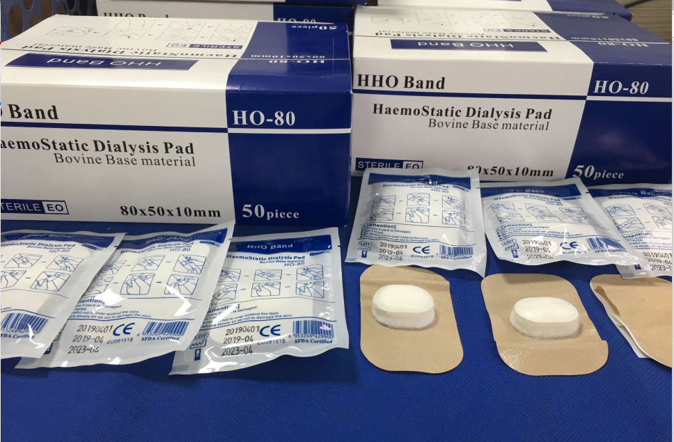 Gelatin absorbable hemostatic pressure dressing