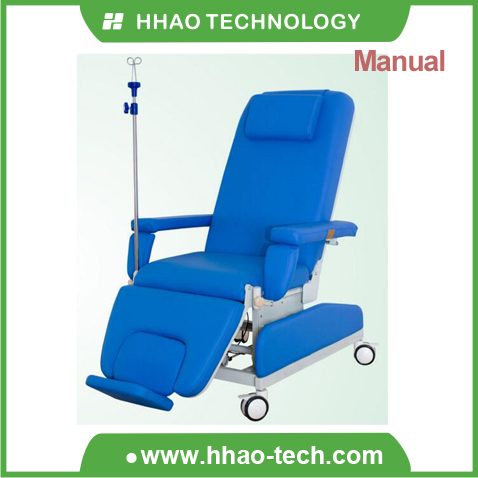 Manual dialysis chair / blood donor chair / infusion chair