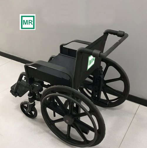 Non-magnetic wheelchair/MRI whellchair/ for 1.5T and 3.0T MR equipment