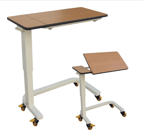 overbed table, turnable overbed table